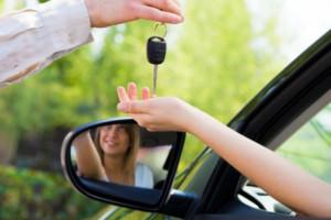 женщина и авто 2