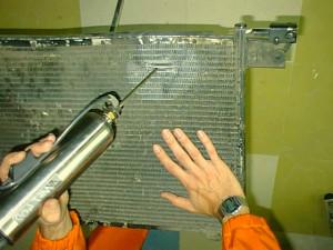 ремонт радиатора 1