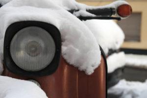 motocikl-zimoj