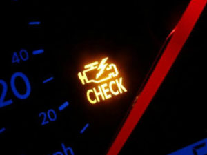 Загорелся check engine