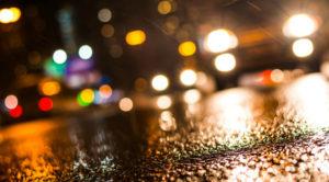 вождение автомобиля ночью