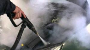 помыть двигатель
