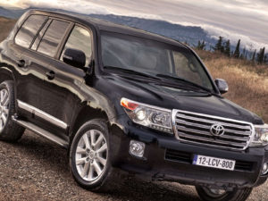 Toyota Land Cruiser 17 года
