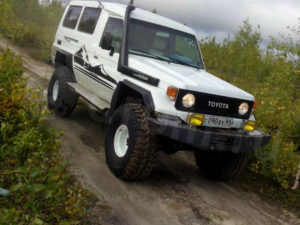 Toyota Land Cruiser 75 год